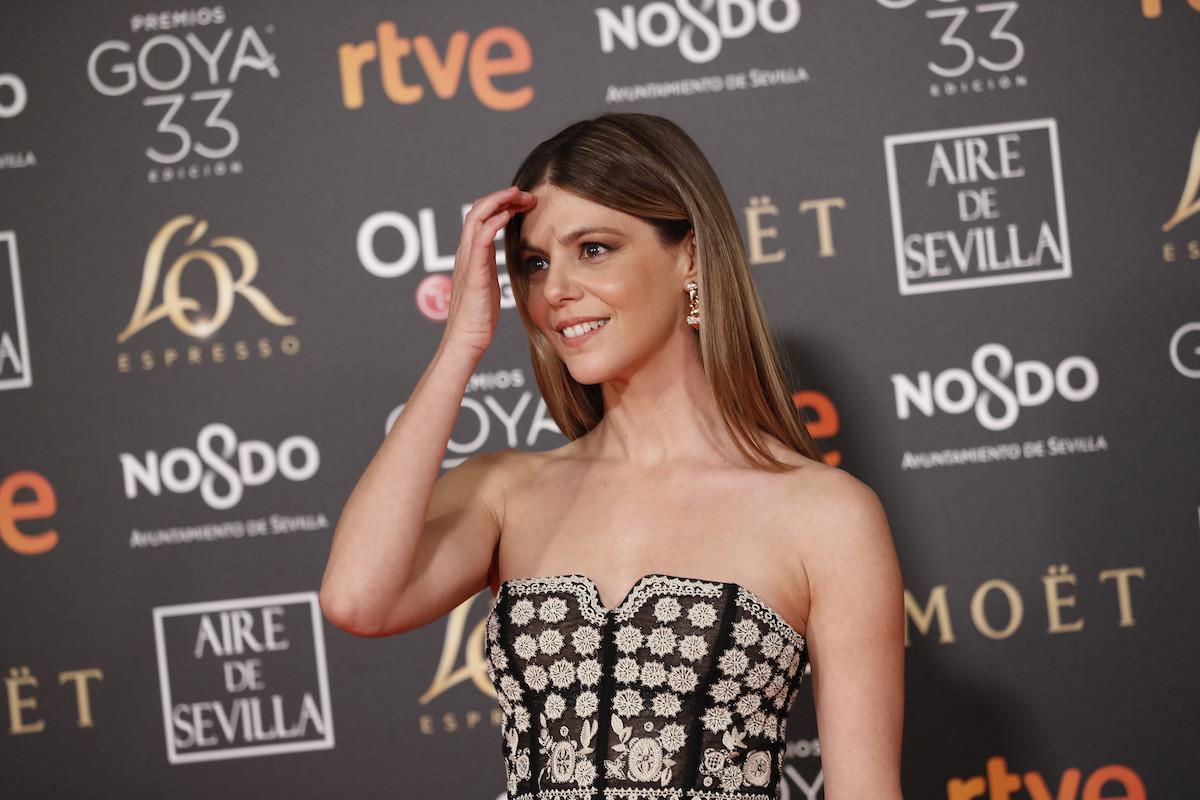 9d321ee1d Premios Goya 2019  Manuela Velasco luce radiante un Christian Dior precioso  de su desfile más complicado