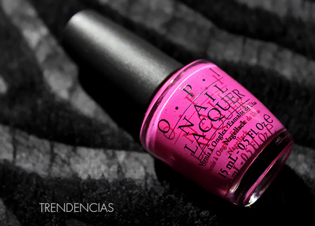 Mi experiencia con la marca OPI y el esmalte Ate Berries In The Canaries
