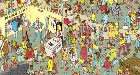 Imagen de la semana: la diabólica versión de encontrar a Wally