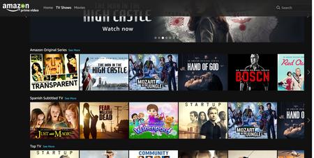 Amazon Prime Video ya ha abierto en España con todo el catálogo incluido en la suscripción premium actual