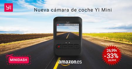 Cámara para coche Yi Mini Dash Camera por sólo 26,99 euros en Amazon con este cupón