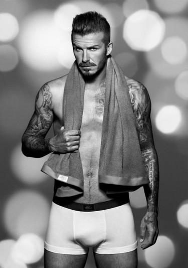 David Beckham, ¿quién quiere calefacción teniendo fotos tuyas en gayumbos?