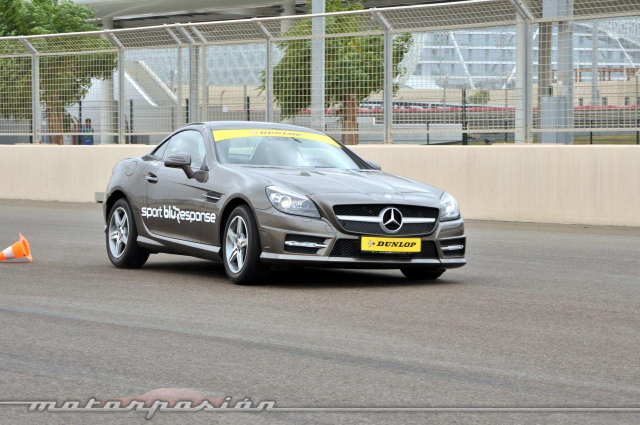 Foto de Dunlop Sport BluResponse, presentación y prueba en Yas Marina (19/24)
