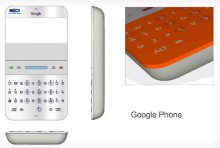 Los teléfonos Android originales que Google presentó en 2006