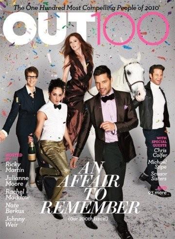¿Tendrá razón la revista Out cuando dice que Ricky Martin es el gay más irresistible del año?