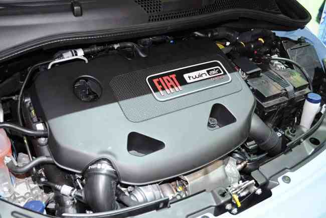 Fiat 500 Twin Air vano motor