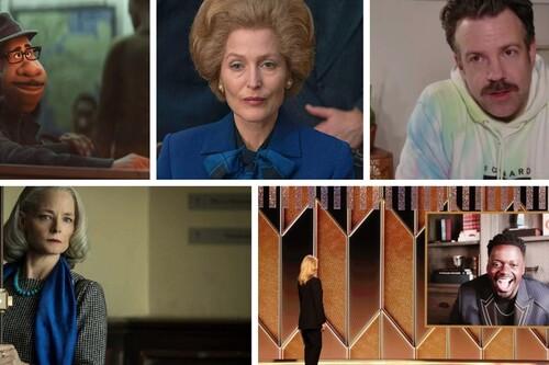 Globos de Oro 2021: 'Nomadland' y 'The Crown' se consagran en la noche de Borat y el premio póstumo de Chadwick Boseman