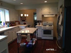 Antes y después: una reforma en la cocina que sorprende aún manteniendo casi todos los muebles