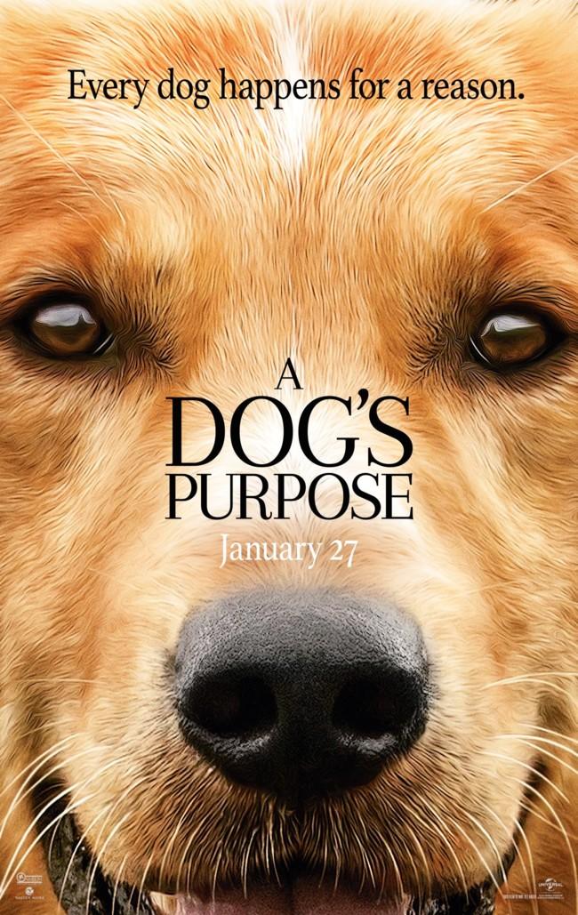 Cartel de A Dog's Purpose