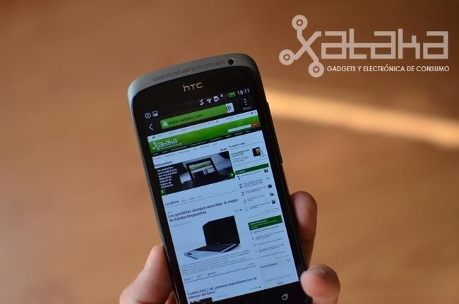 HTC One S análisis navegador