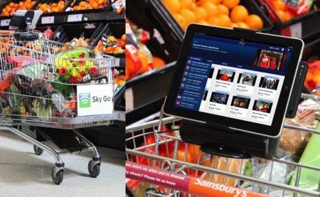 Hacer la compra y ver un partido de fútbol al mismo tiempo, una realidad en los supermercados Sainsbury's gracias al iPad