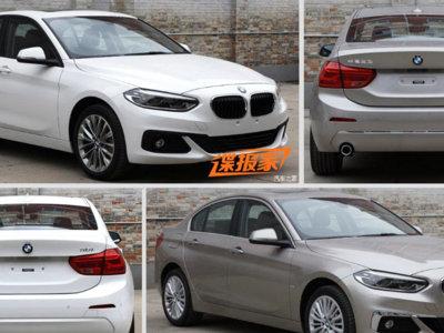 El BMW Serie 1 Sedán se filtra en tres versiones, pero aún no lo confirman para otros países