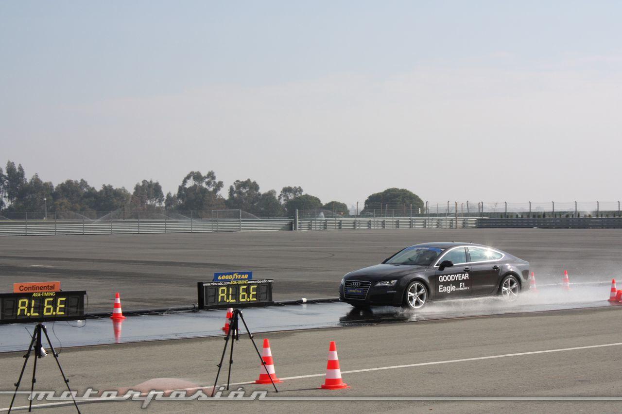 Foto de Goodyear Eagle F1: Audi TT RS, Audi A7 y Mercedes CLS (30/79)