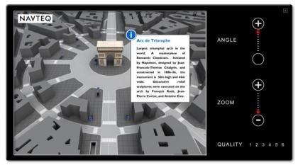 Navteq presenta las ciudades en 3D