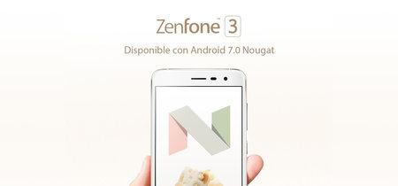 Zenfone 3 empieza a recibir Android 7.0 Nougat en México