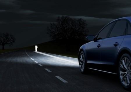 Audi A8 faros LED avanzados
