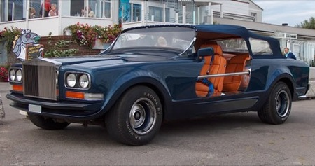 Rolls-Royce Camargue Sbarro, diseñado para cazar