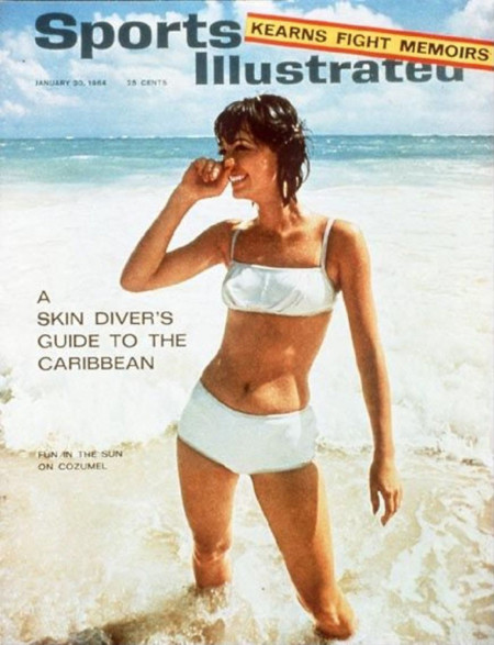 Babette March Sports illustrated 1964