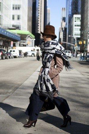 abrigo bufanda
