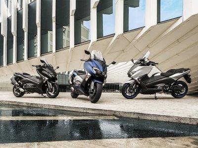 Yamaha TMAX 2017, en tres sabores distintos para degustar la gloria de los maxi-scooter