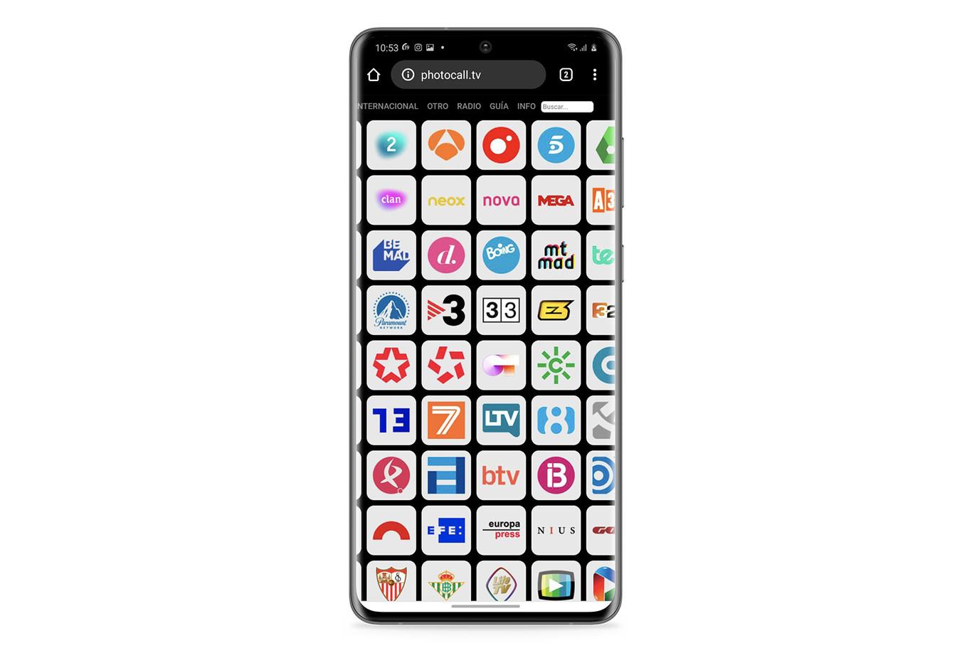 Cómo Ver La Tele En Android Y Iphone Sin Instalar Nada Tdt Online Y Gratis Gracias A Photocall Tv