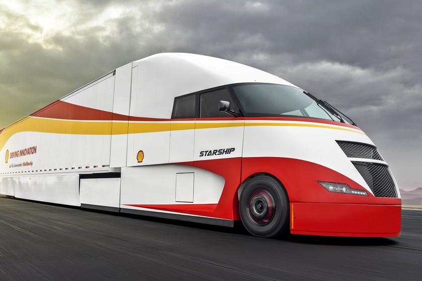 Starship: el camión híbrido que ha roto los récords de consumo en EE.UU. en un viaje de 3.700 km