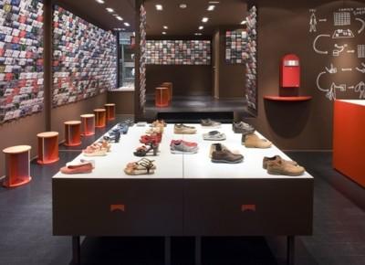 Martí Guixé diseña las nuevas tiendas de Camper en Bruselas y en Copenhague