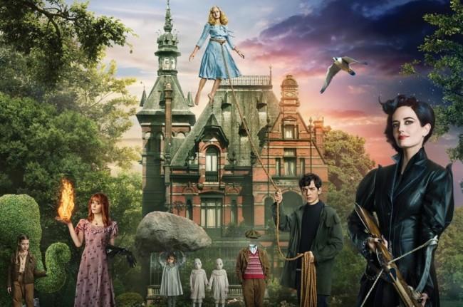 Los protagonistas de El hogar de Miss Peregrine para niños peculiares