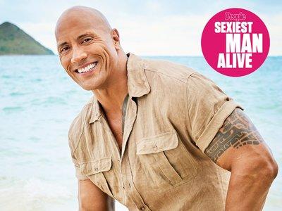 Dwayne Johnson es el hombre (vivo) más sexy del mundo