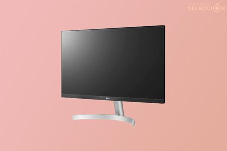 """El elegante y minimalista monitor LG 24MK600M de 24"""" es un chollo por 99 euros en Amazon y MediaMarkt para usar con Mac"""
