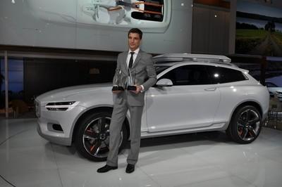 El Volvo XC Concept premiado como mejor prototipo del Salón de Detroit
