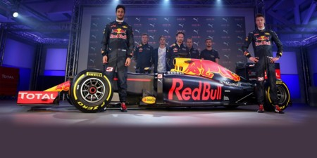 Red Bull Decoracion 2016 F1