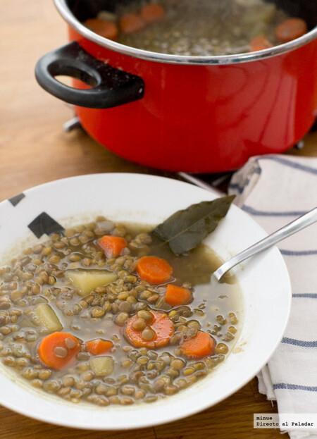 Receta de lentejas al curry, una vuelta de tuerca al clásico plato de legumbres
