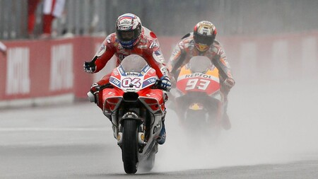 Dovizioso Marquez Motegi Motogp 2017