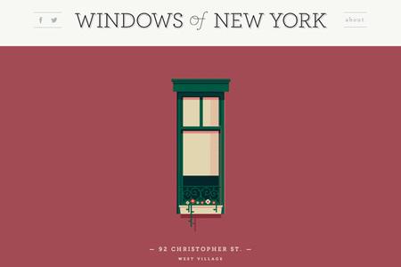 Ventanas de Nueva York