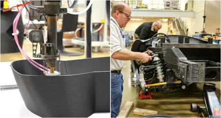 Shelby Cobra impreso en 3D