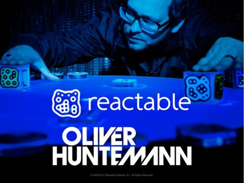 Reactable Oliver Huntemann, lo nuevo de Reactable es un album interactivo