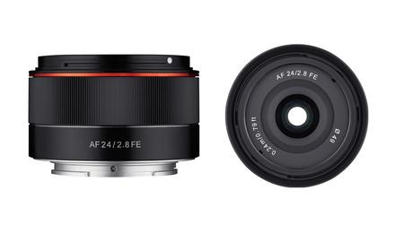 Samyang AF 24mm F2.8 FE, nuevo gran angular ligero, económico y con AF para cámaras Sony de formato completo