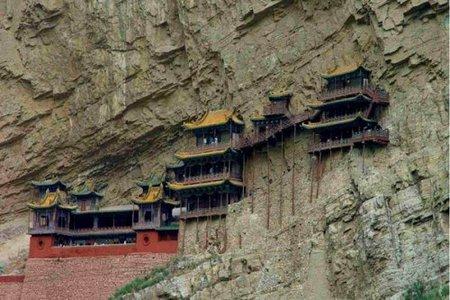 Xuan Kong Si: monasterio colgante en el precipio