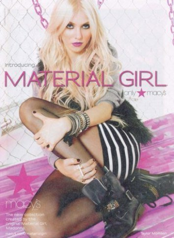 Taylor Momsen es la elegida: será la nueva 'Material Girl' de Madonna y su hija