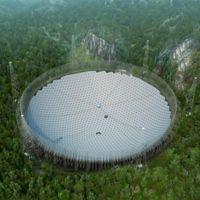 Ya se ha instalado el telescopio más grande del mundo y está en China