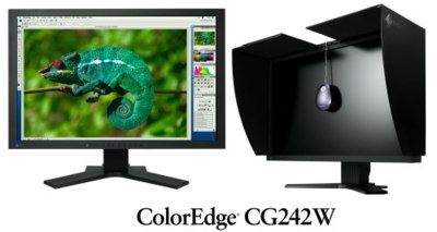 ColorEdge CG242W, monitor con calibrador hardware incorporado