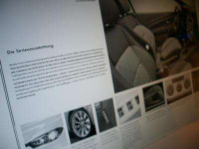 Catálogo Volkswagen Scirocco