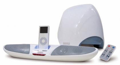 TwinMOS BooM1, más altavoces para iPod