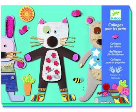 Preciosos collages para hacer con los niños