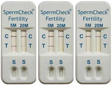 SpermCheck Fertility, test casero de fertilidad para hombres
