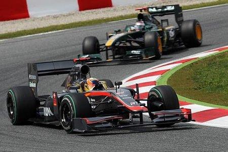 GP de España 2010: Sin suerte para Hispania Racing F1 Team en el gran premio de casa