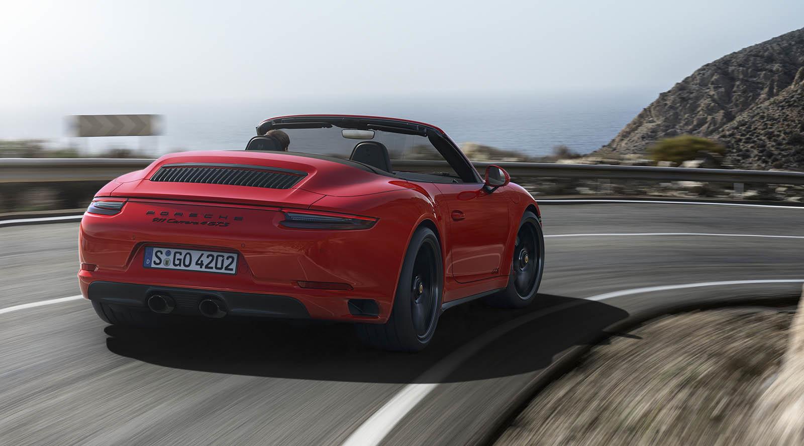 Porsche 911 Carrera GTS 2017