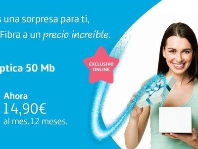 Movistar contraataca a Pepephone promocionando la contratación de solo fibra