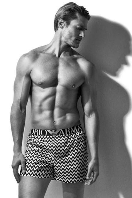 Jason Morgan Emporio Armani Spring Summer 2016 Underwear Campaign 001